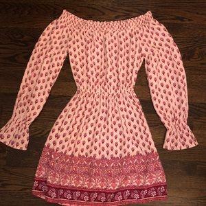 Pink dress from Hollister